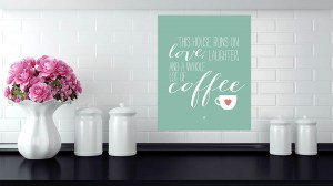Monday Coffee canvas print