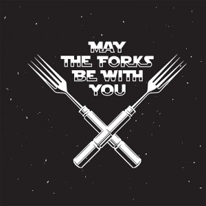 May The Folks Be With You Canvas Print