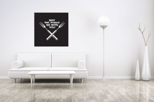 May The Forks Be With You Canvas Print