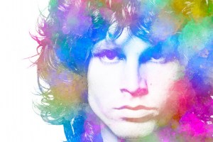 Jim Morrison Canvas